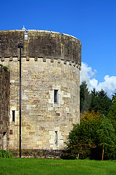 Glenstal Abbey Tower Stock Photo - Image: 16308440