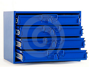 Nut, Bolt, And Small Hardware Organizer Stock Photo - Image: 16310010