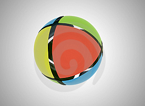Abstract Sphere Royalty Free Stock Photography - Image: 16312157