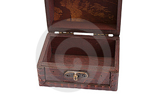 Empty Wooden Box Royalty Free Stock Photography - Image: 16313937