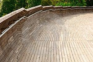 Wooden Bridge Royalty Free Stock Photography - Image: 16314487