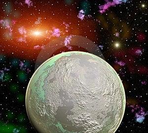 Space Landscape Stock Image - Image: 16314781