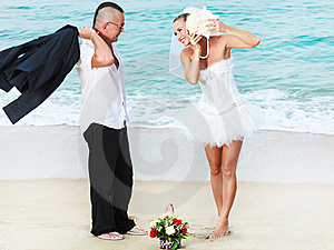 Tropical Wedding Stock Image - Image: 16315381