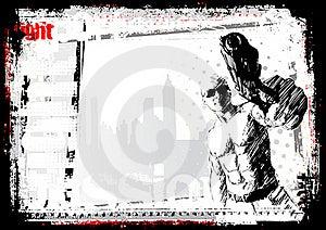 Gunner Background Royalty Free Stock Photos - Image: 16315748