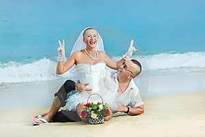 Tropical Wedding Royalty Free Stock Images - Image: 16315849