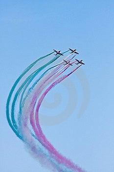Flying Demonstration Royalty Free Stock Image - Image: 16316086