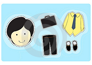 Businessman With Variety Of Clothes Stock Photos - Image: 16319973