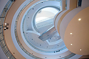 Spiraling Stairs Royalty Free Stock Images - Image: 16320579