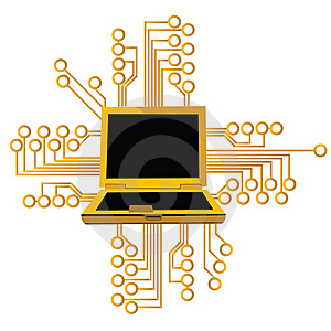 Computer Technology Stock Image - Image: 16320681