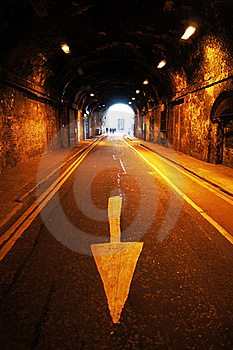 Tunnel Under Railway Royalty Free Stock Photography - Image: 16321107