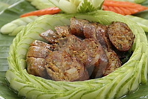 Sausage Sai Auo Royalty Free Stock Photography - Image: 16321307