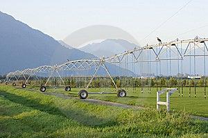 Sprinkler Irrigation System Stock Images - Image: 16321974