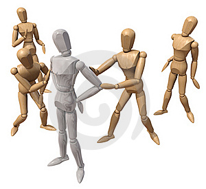Several Mannequins Royalty Free Stock Photos - Image: 16323858