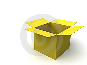Empty Box Stock Image - Image: 16325241
