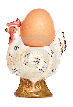 Egg In Hen Egg-cup Stock Images - Image: 16325794