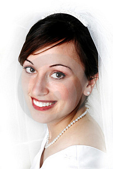 Bride Portrait Royalty Free Stock Images - Image: 16326049