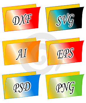 File Folders Stock Photos - Image: 16328873