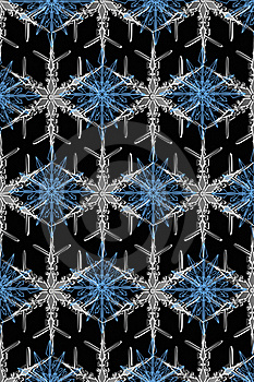Texture Of Beautiful Snowflakes Royalty Free Stock Photo - Image: 16329875