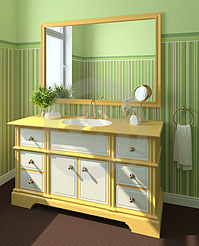Bathroom Interior. Stock Image - Image: 16331121