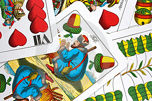 Hungarian Playing Cards Royalty Free Stock Photography - Image: 16335877