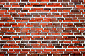 Wall With Reddish-brown Brick Royalty Free Stock Image - Image: 16336396