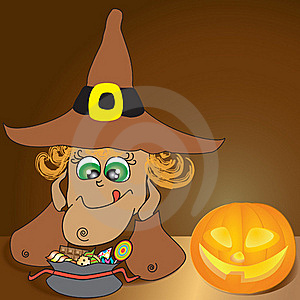 Happy Helloween Stock Image - Image: 16337301