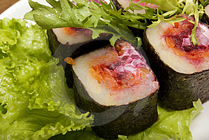 Portion Of Rolls Royalty Free Stock Image - Image: 16337476