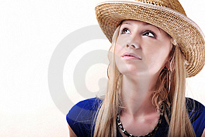 Pretty Cowboy Girl Royalty Free Stock Images - Image: 16337609