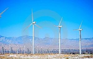 Windmills Park Royalty Free Stock Photo - Image: 16337715