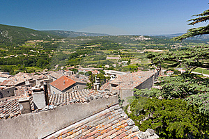 View From Bonnieux Stock Images - Image: 16337804