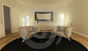 Red Sofa Royalty Free Stock Images - Image: 16338199