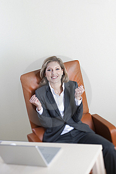 Successful Businesswoman Stock Photos - Image: 16338473