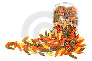 Pasta In Glass Jar Stock Photos - Image: 16340353