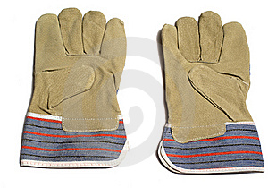 Pair Of Protective Gloves Royalty Free Stock Image - Image: 16340856