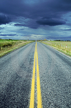 Quiet Highway Royalty Free Stock Photo - Image: 16341505