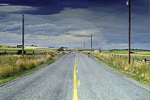 Quiet Highway Royalty Free Stock Image - Image: 16341536