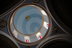 Galilee Church Dome Stock Photo - Image: 16342140