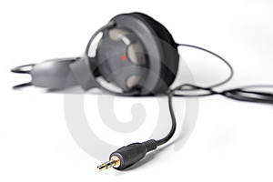 Isolated Powerful Stereo Headphones Stock Photo - Image: 16346600