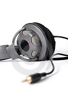 Isolated Powerful Stereo Headphones Royalty Free Stock Photos - Image: 16346608