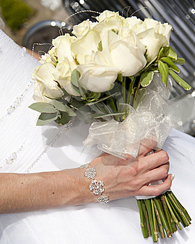 Bride's Boquet Royalty Free Stock Images - Image: 16349549