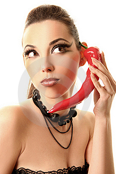 Red Phone Royalty Free Stock Image - Image: 16349766
