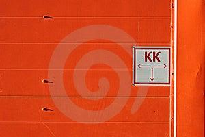 Orange Wall Stock Photography - Image: 16351182