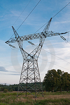 Transmission Power Line Royalty Free Stock Photos - Image: 16355538