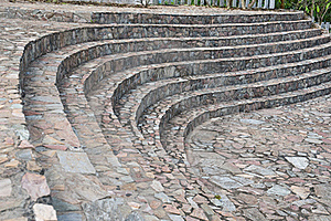 σκαλοπάτι καμπυλών Στοκ Φωτογραφίες - εικόνα: 16355873