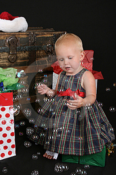 Christmas Bubbles Royalty Free Stock Photography - Image: 16356117