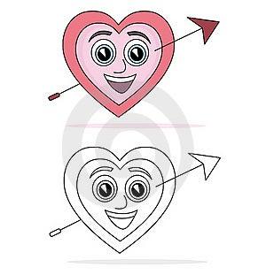 Heart Cartoon Stock Photography - Image: 16357232