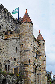 Castle Towers Royalty Free Stock Photos - Image: 16357778