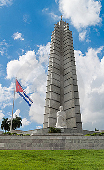 Vertical View Of The Jose Marti Memorial In Havana Stock Image - Image: 16358311