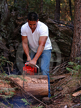 Chainsaw Royalty Free Stock Photography - Image: 16359287