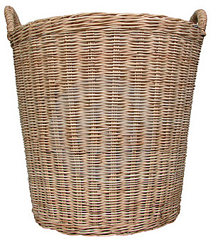 Basket Wicker Stock Images - Image: 16362424